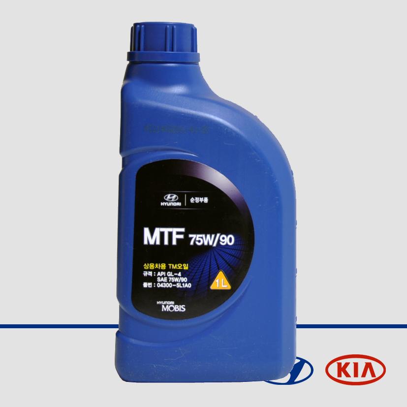 Масло трансмиссионное синтетическое MTF 75W-90, 1л 04300-5L1A0 HYUNDAI