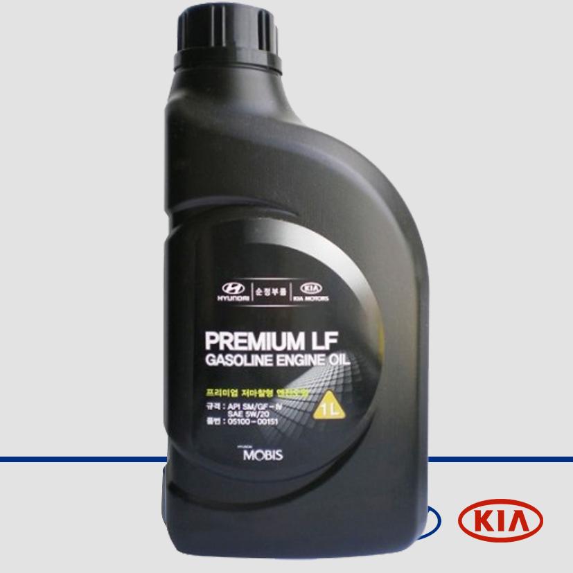 Масло моторное синтетическое Premium LF Gasoline 5W-20, 1л