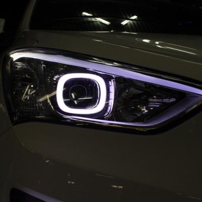 LED подсветка в фаре HYUNDAI Santa Fe DM